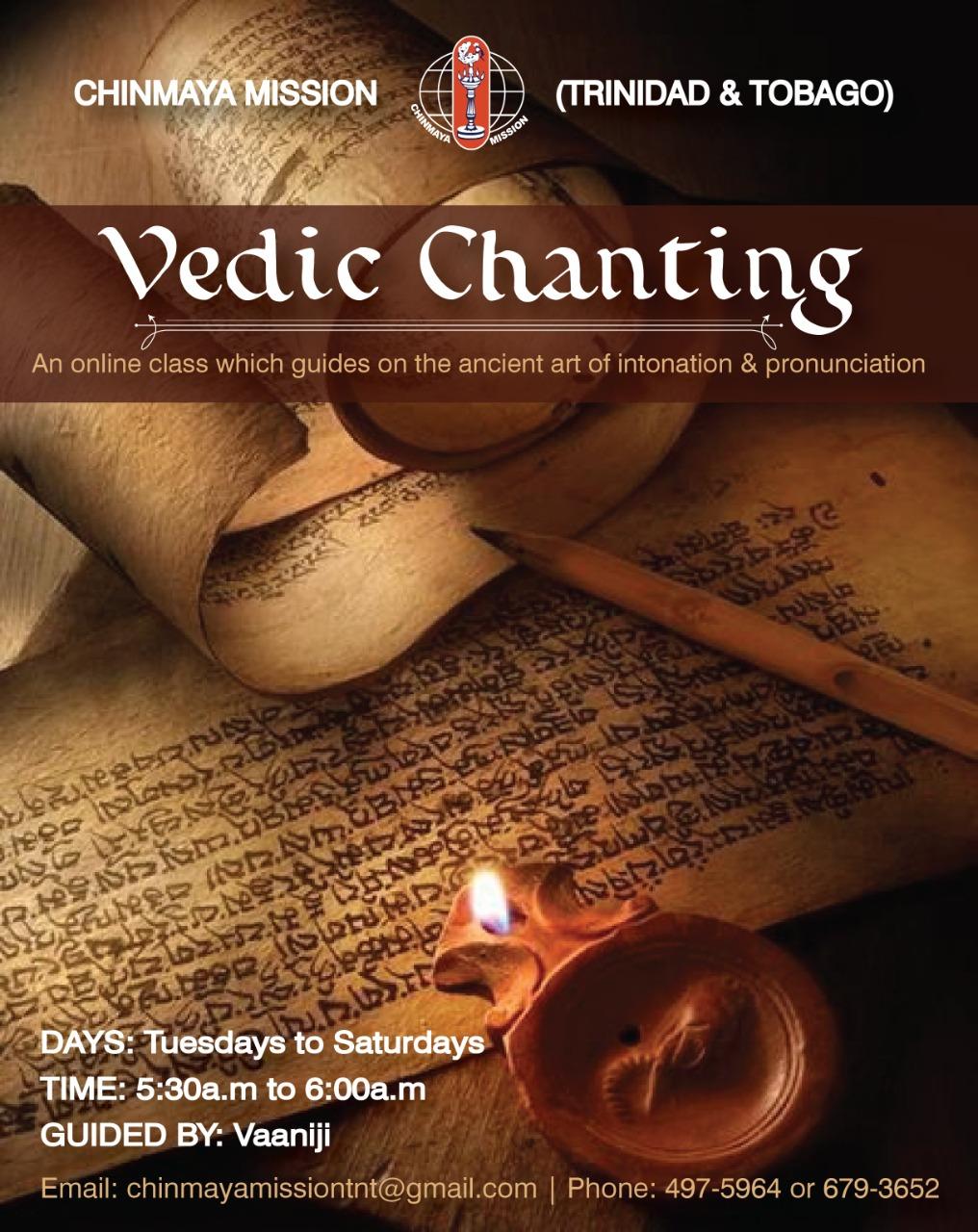 Vedic Chanting with Vaani